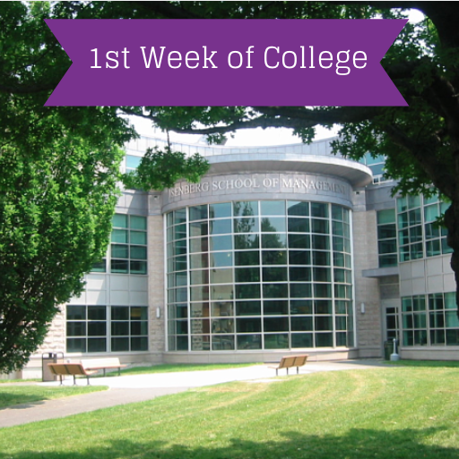 first week at college It might take more than a week to get over homesickness -- and that's ok whether you're going to college an hour from home or across the country, it's totally normal to get those pangs of.