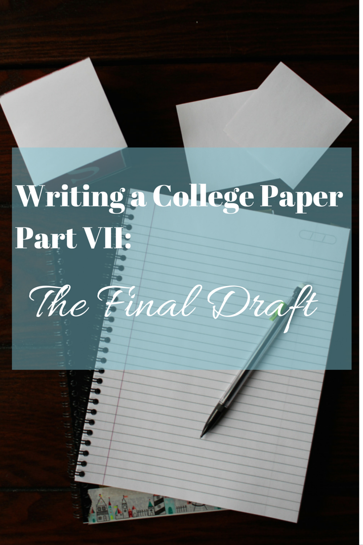final draft paper 4 How to prepare a manuscript for international journals — part 3 angel borja,  phd  correct and rewrite only when the whole text is on paper.