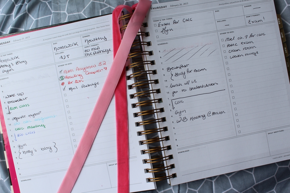 Day Planner Organization  Alex Marie