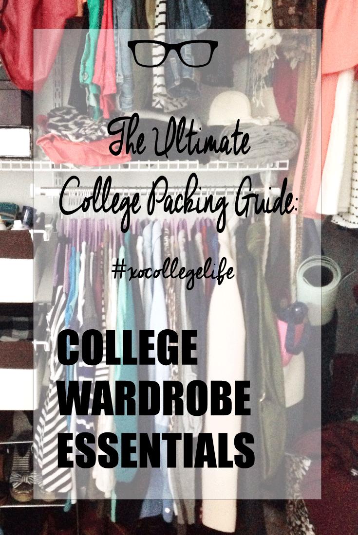 college wardrobe essentials alex marie. Black Bedroom Furniture Sets. Home Design Ideas