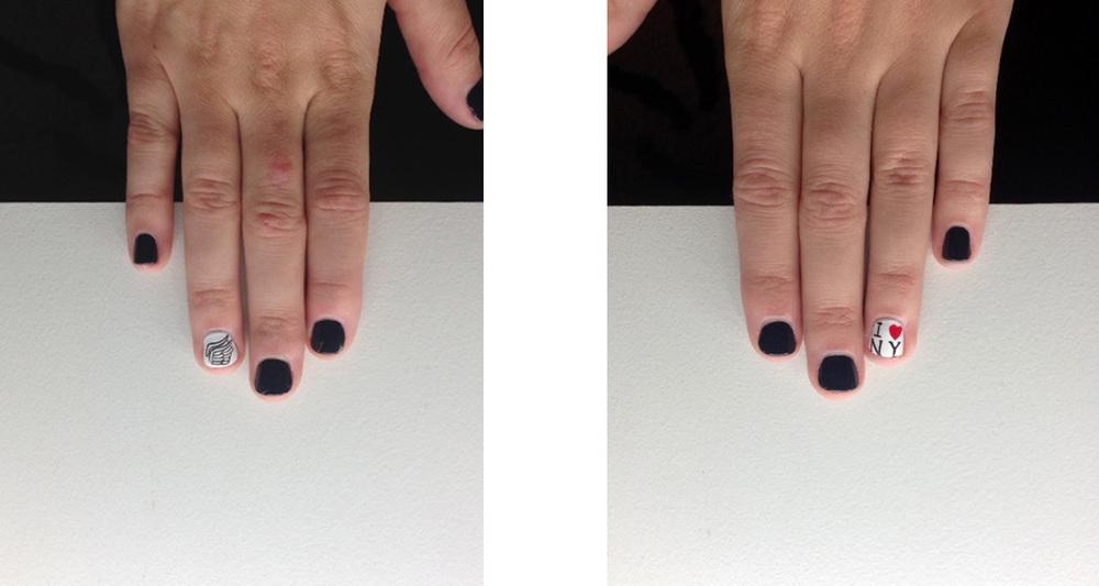 Nyc Marathon Nails Tcs Nyc Marathon Nails // a
