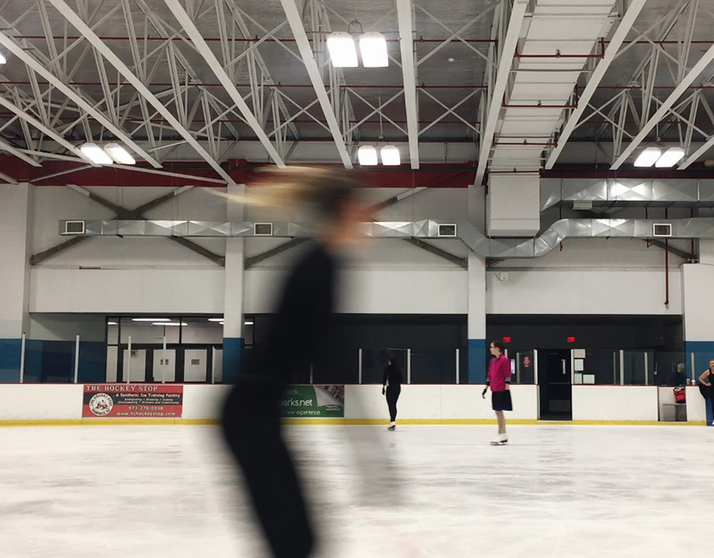 SPENT SOME TIME ON THE ICE AT MY HOME RINK OVER THANKSGIVING. IT FELT SO GOOD TO LET THE COLD AIR FILL MY LUNGS AND SMOOTH ICE MOVE ME