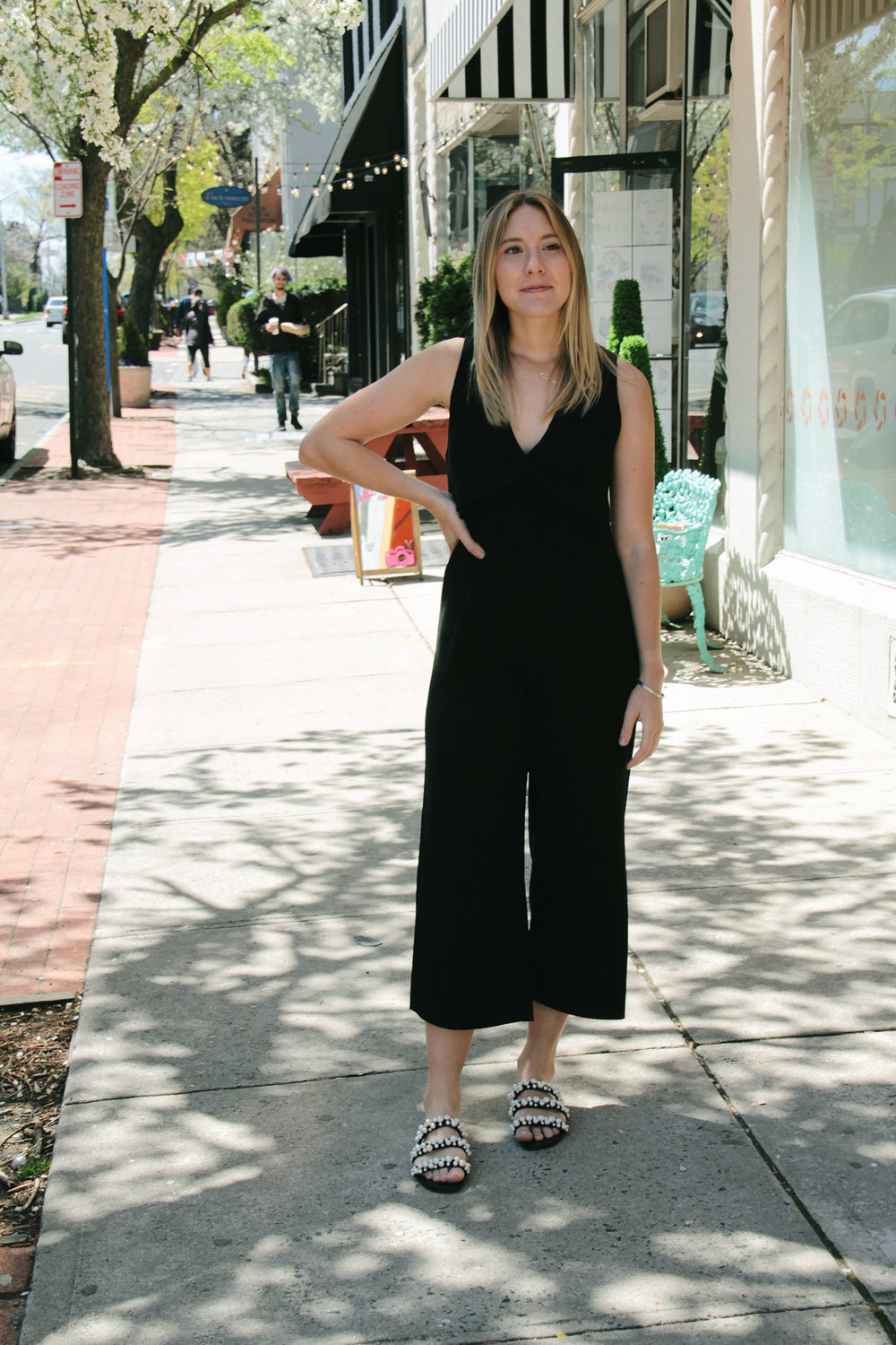 ZARA JUMPSUIT  +  SANDALS
