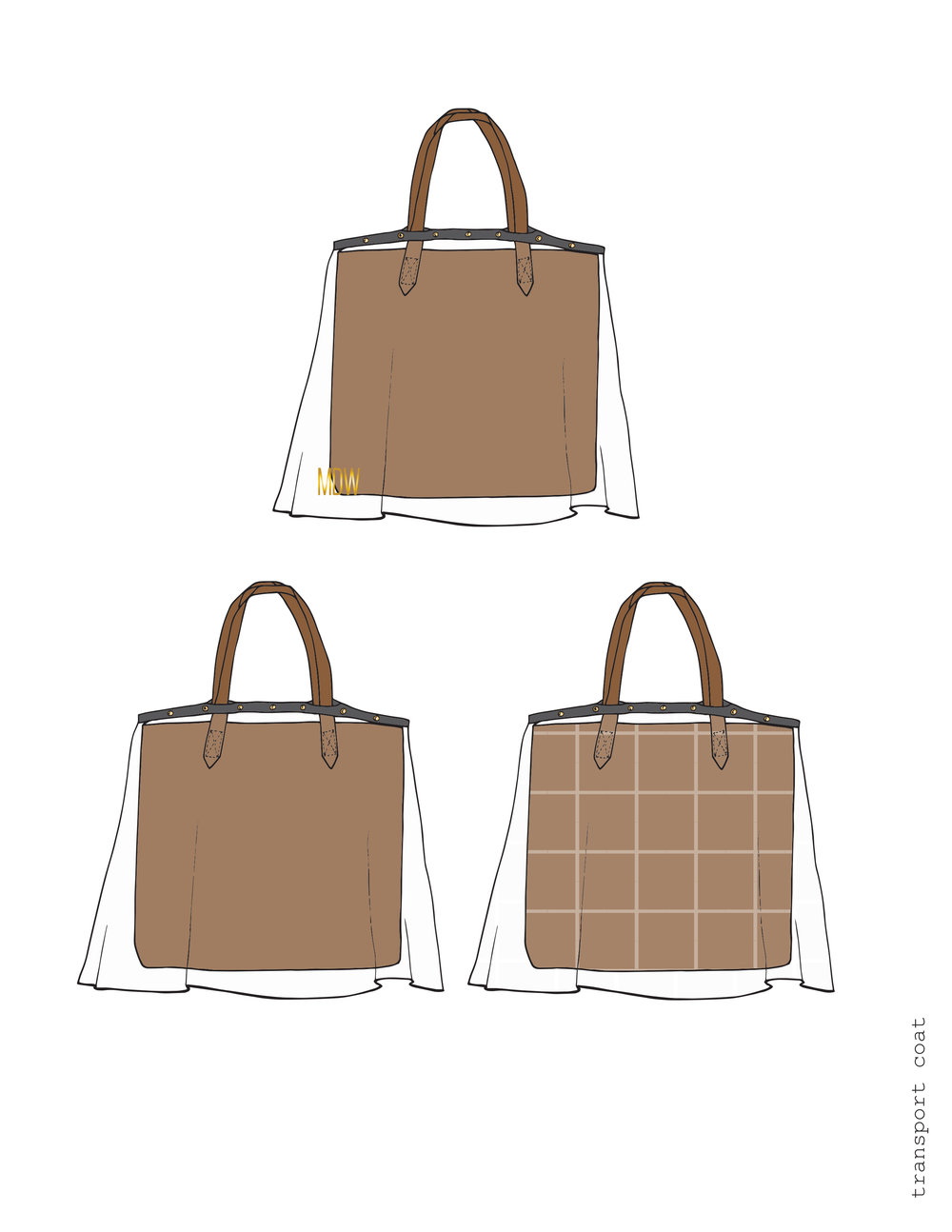 bags + Accessories - + sketches+ tech packs/development cards+ CADS