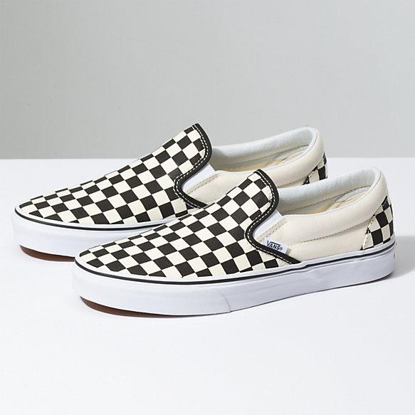 Vans - Classic Checkerboard Slip-On