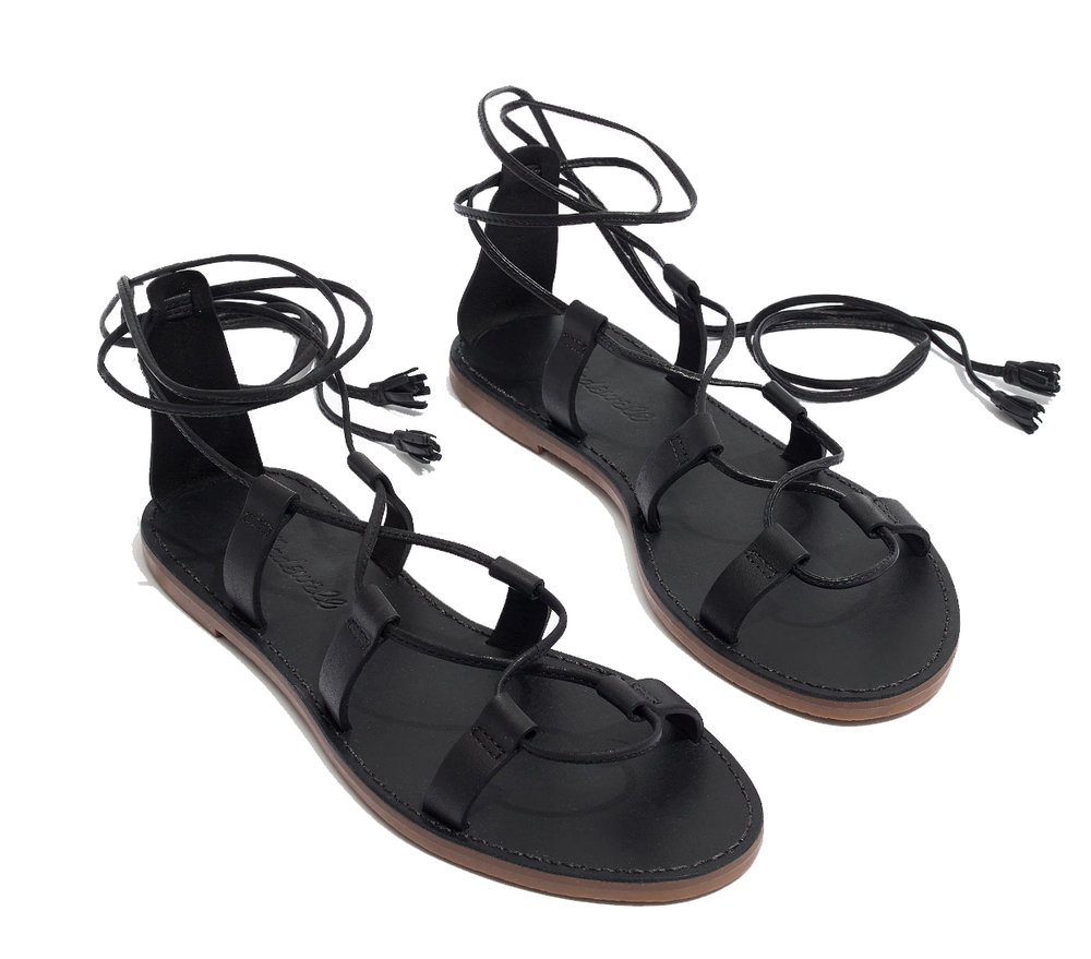 Madewell - Boardwalk Lace Up Sandal