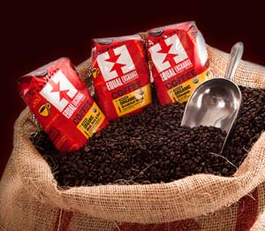Try the great taste of fairly traded coffee!