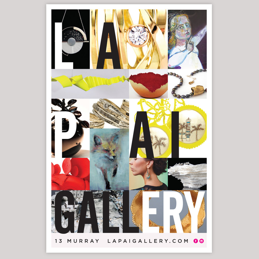 24x36 poster design - Art Gallery Poster