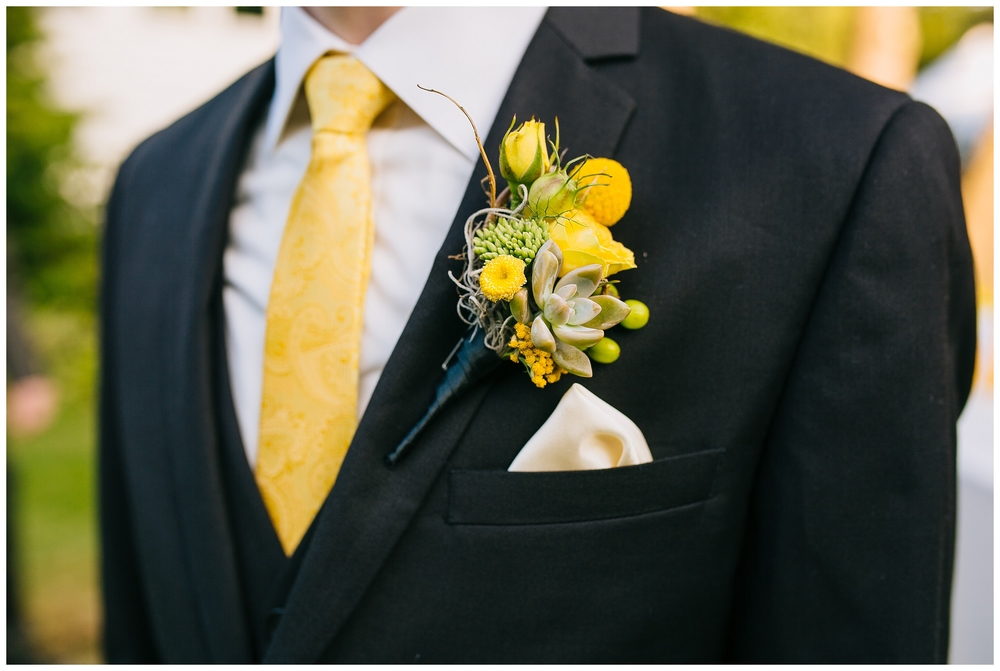 Wedding Boutonnieres - Photo Courtesy of Emily Tebbetts Photography