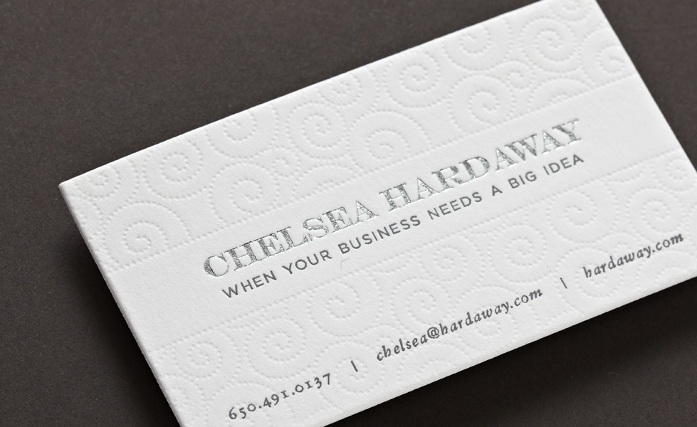 Letterhead/Business Cards — PicturesWords: Graphic Design + Illustration