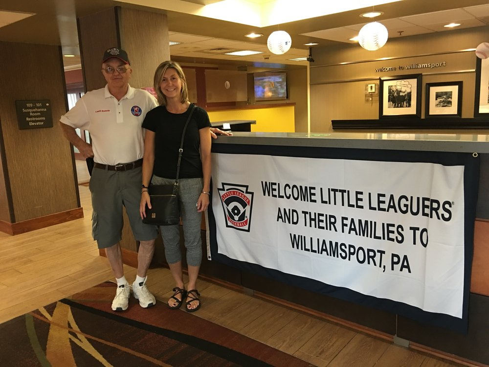 2016 RAFFLE WINNER J Shrader of Dandridge, Tennessee won a trip to 2016 Little League World Series in Williamsport, PA