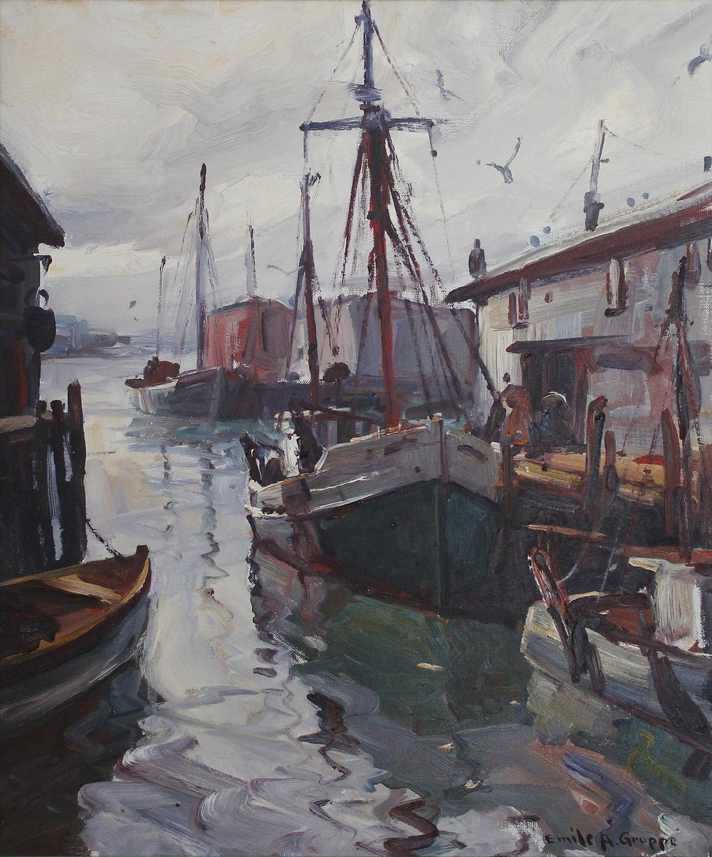 Gruppe, Gloucester Harbor.jpg