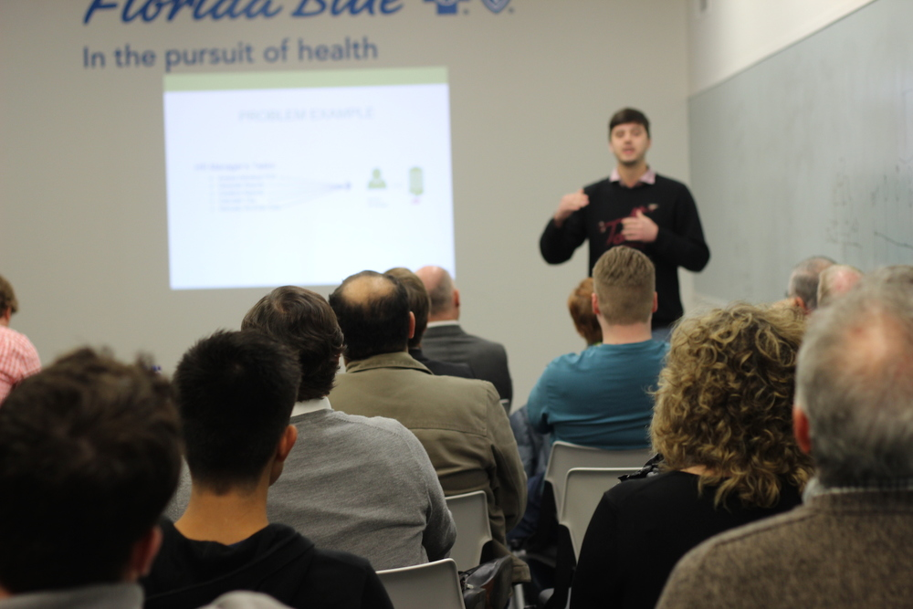 Pitch events give the community an exciting way to meet local entrepreneurs and startups.