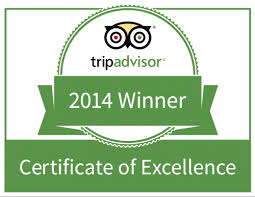 Pago selected for 2014 TripAdvisor Certificate of Excellence.