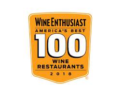 Wine Enthusiast names Pago one of America's Best 100 Wine Restaurants in 2018.