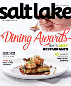 Pago selected as Salt Lake Magazine READER'S CHOICE for Best Restaurant in Utah 2018.