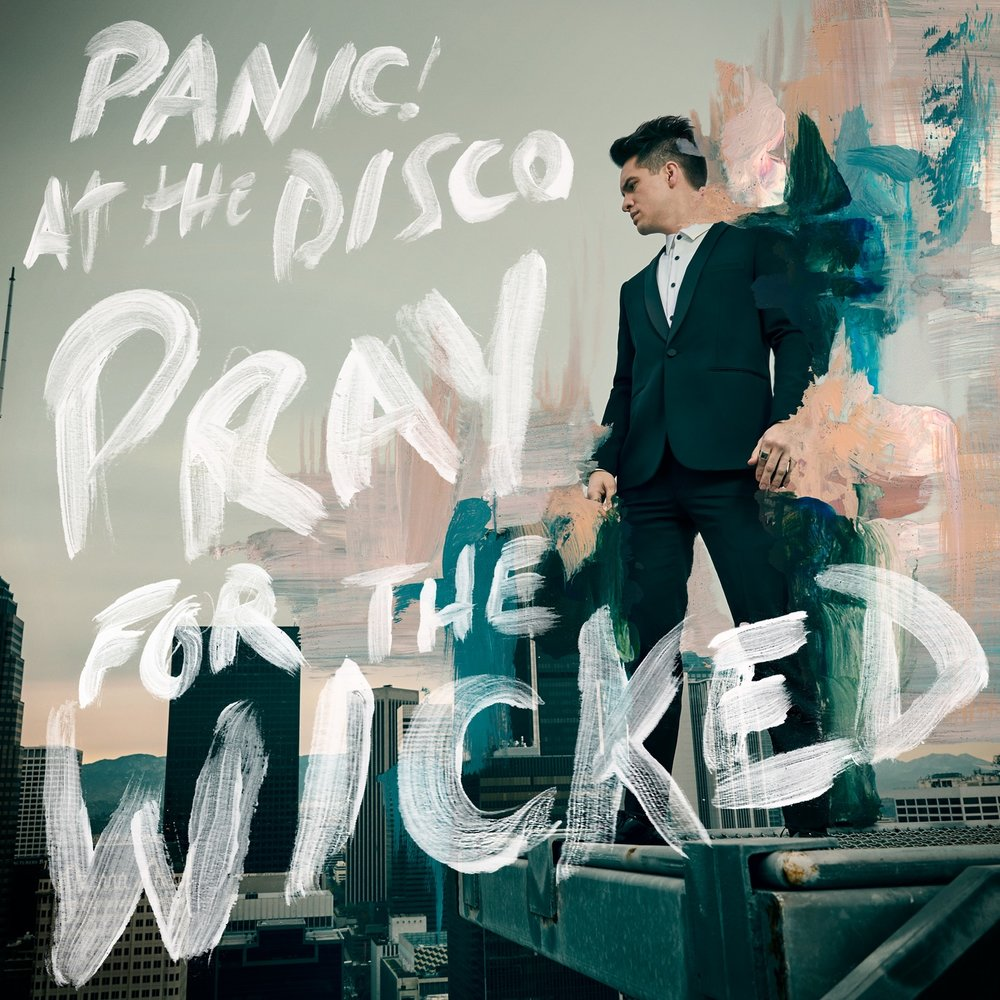 Album cover from PanicAtTheDisco.com