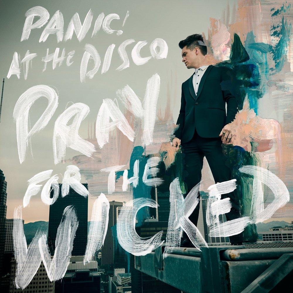 Album cover from PanicAtTheDisco.com