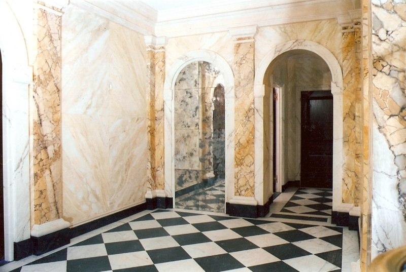 Marbled Columns