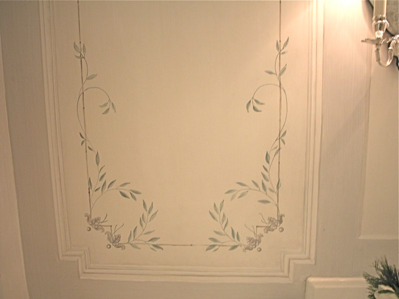 Swedish Painted Panel