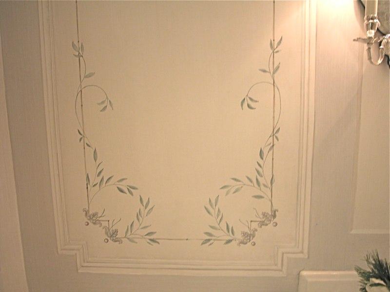 Swedish Painted Panel
