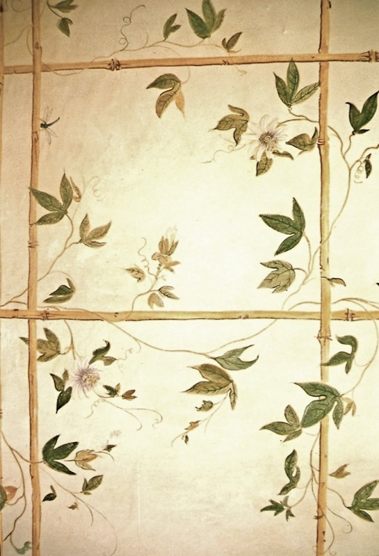 Painted Trellis - detail