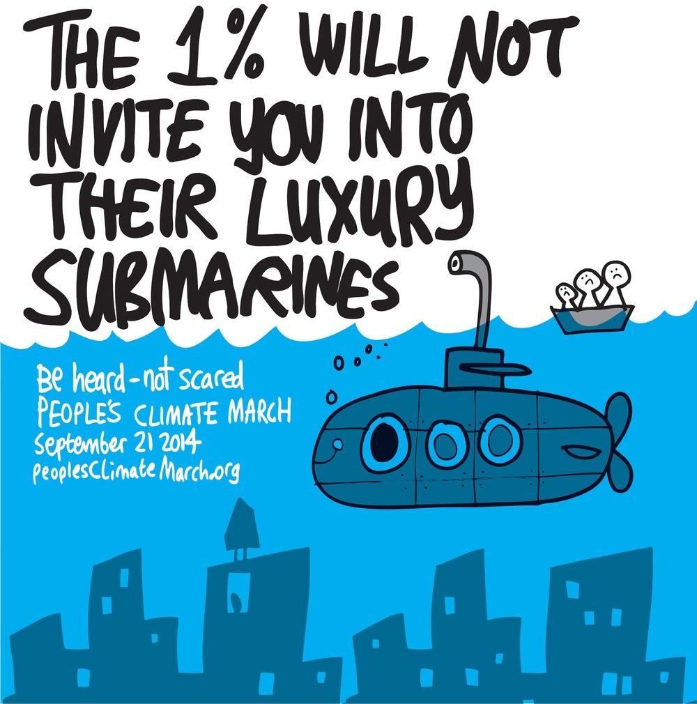"""""""Luxury Submarines."""" Artist: Jon Burgerman"""