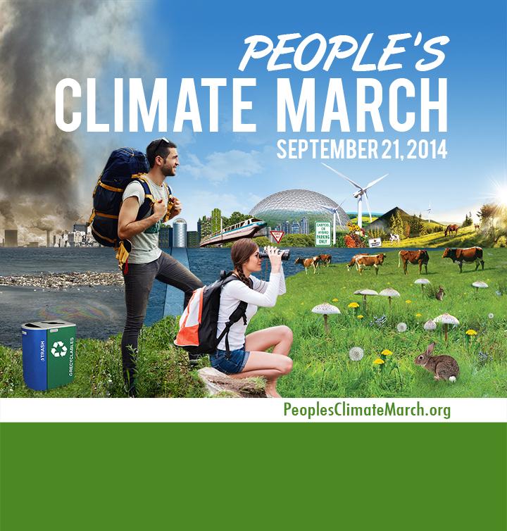 """Climate march."" Artist: Dunja Koller"