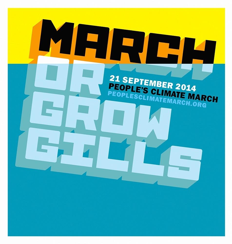 """""""March or grow gills."""" Artist: Stefan G Bucher"""