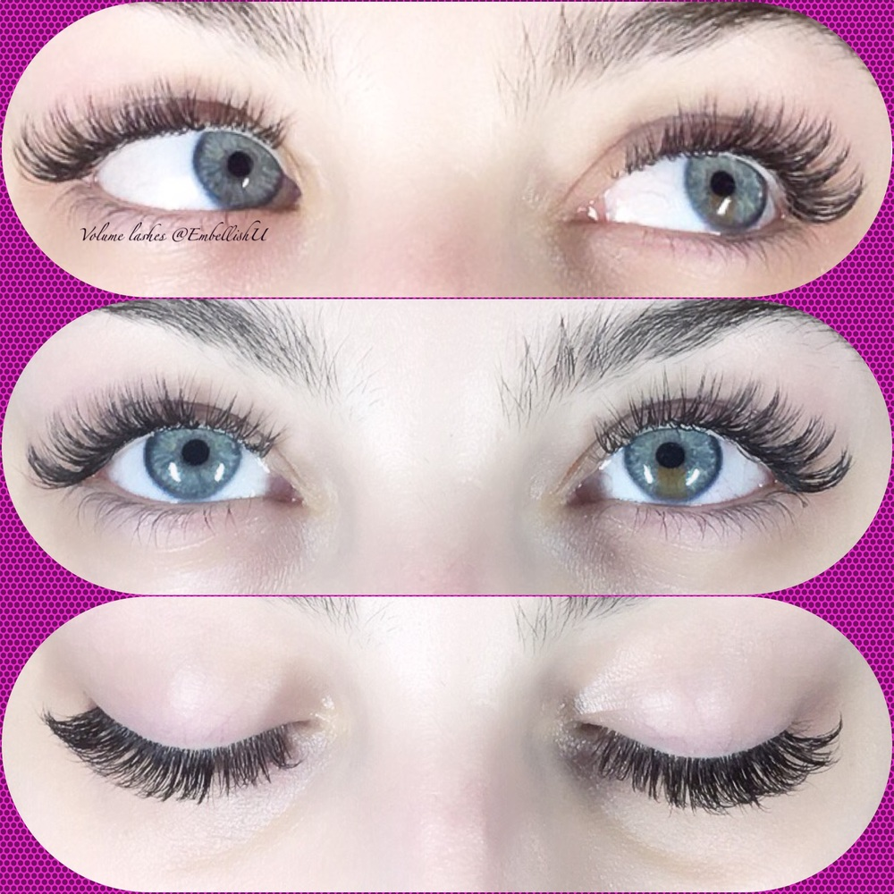2/3D Volume Lashes