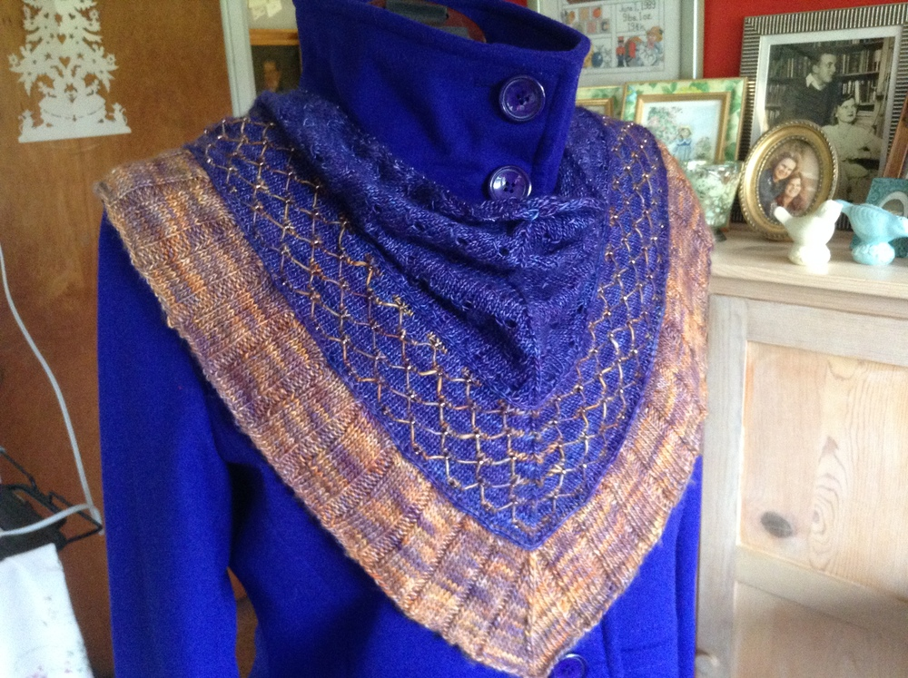 Finished Faberge Kerchief