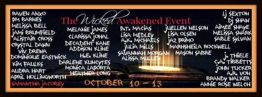 Awakened Author Event in Oct 2015