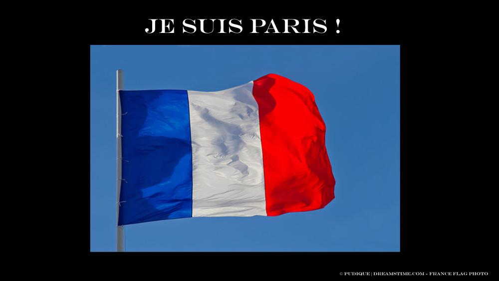 Je Suis Paris by Pudique