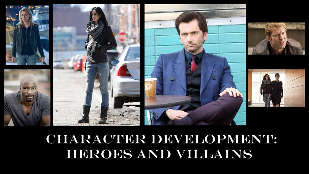 Jessica Jones Heroes - Villains