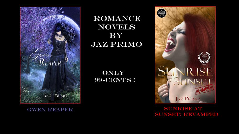 Jaz Prrimo Romance Novels