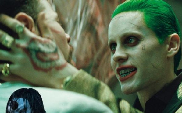 Jared Leto as The Joker.