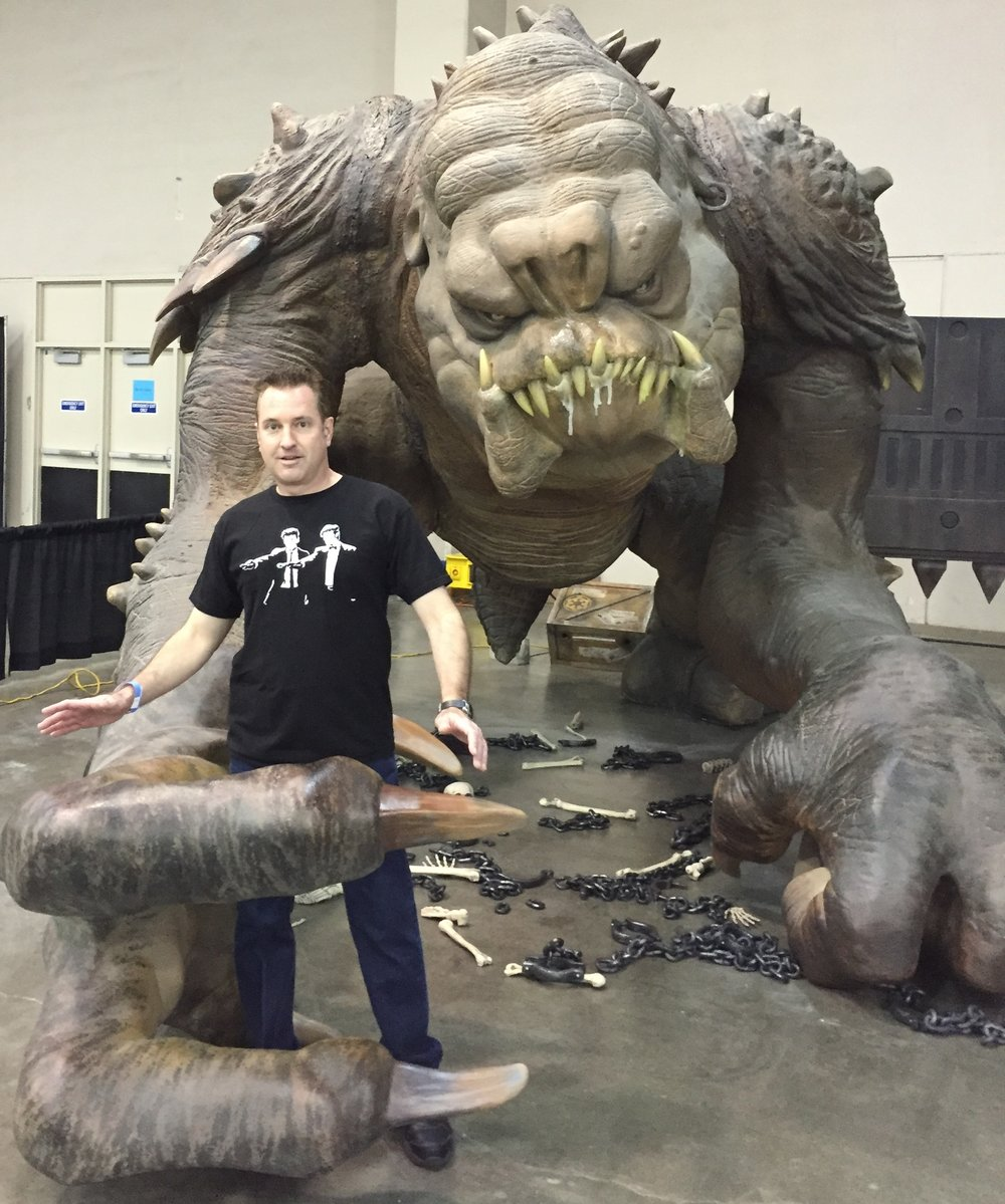 [Jaz and the Rancor -- PHOTO COPYRIGHT 2016 BY JAZ PRIMO]