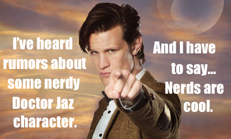 Doctor Who Eleventh about Jaz
