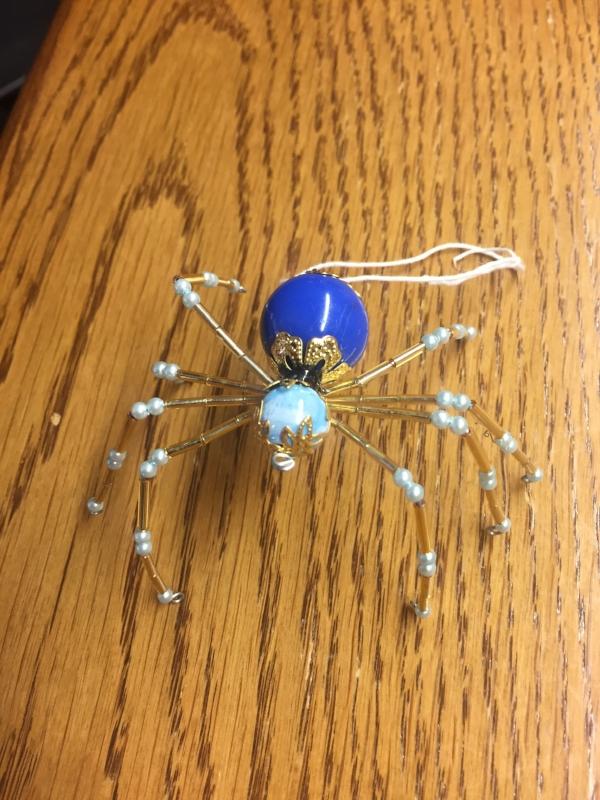 (Halloween Spider -- PHOTO COPYRIGHT 2017 BY JAZ PRIMO)