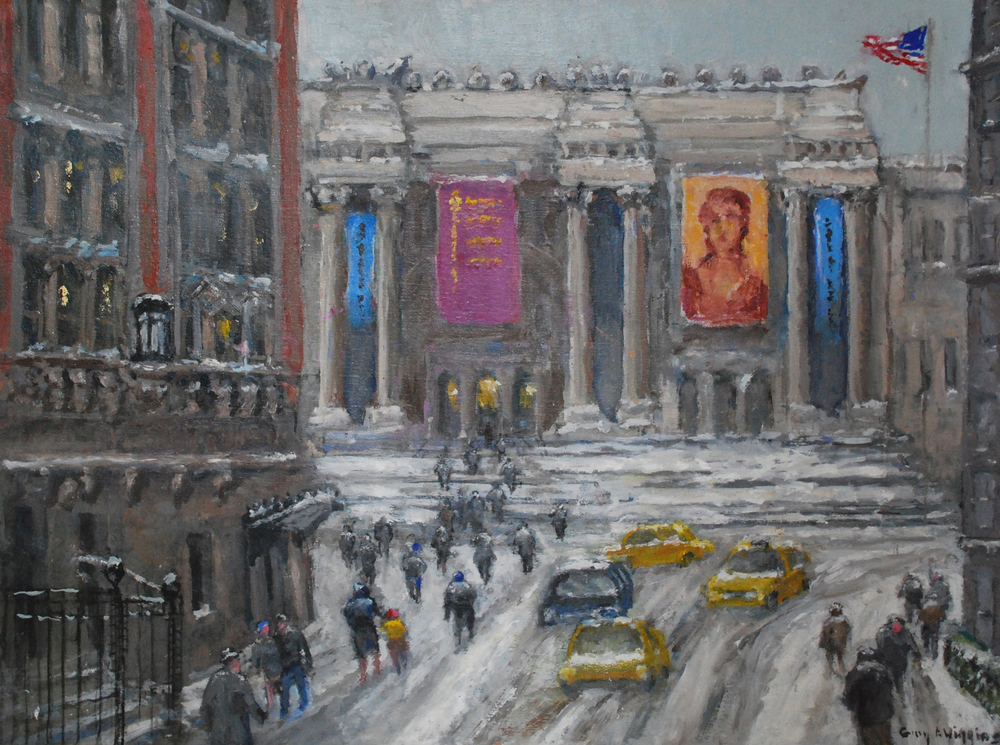 Wiggins Midwinter at the Metropolitan by Guy Wiggins 18x24,33x27,oil-20,000.jpg