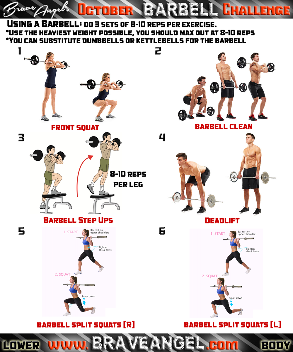 York Dumbbell Exercise Programme: Barbell And Dumbbell Workout Program