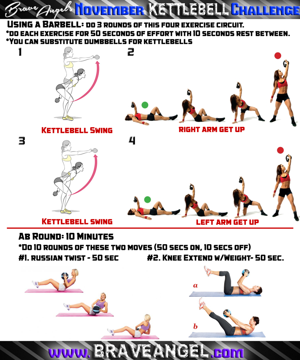 Fat Burning Kettlebell Exercises: Kettlebell Cardio & Full Body