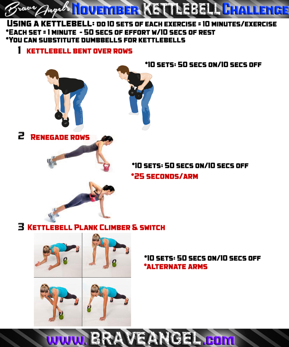 New Kettlebell Exercises For Your Workout Routine: Two Simple Kettlebell Workouts!