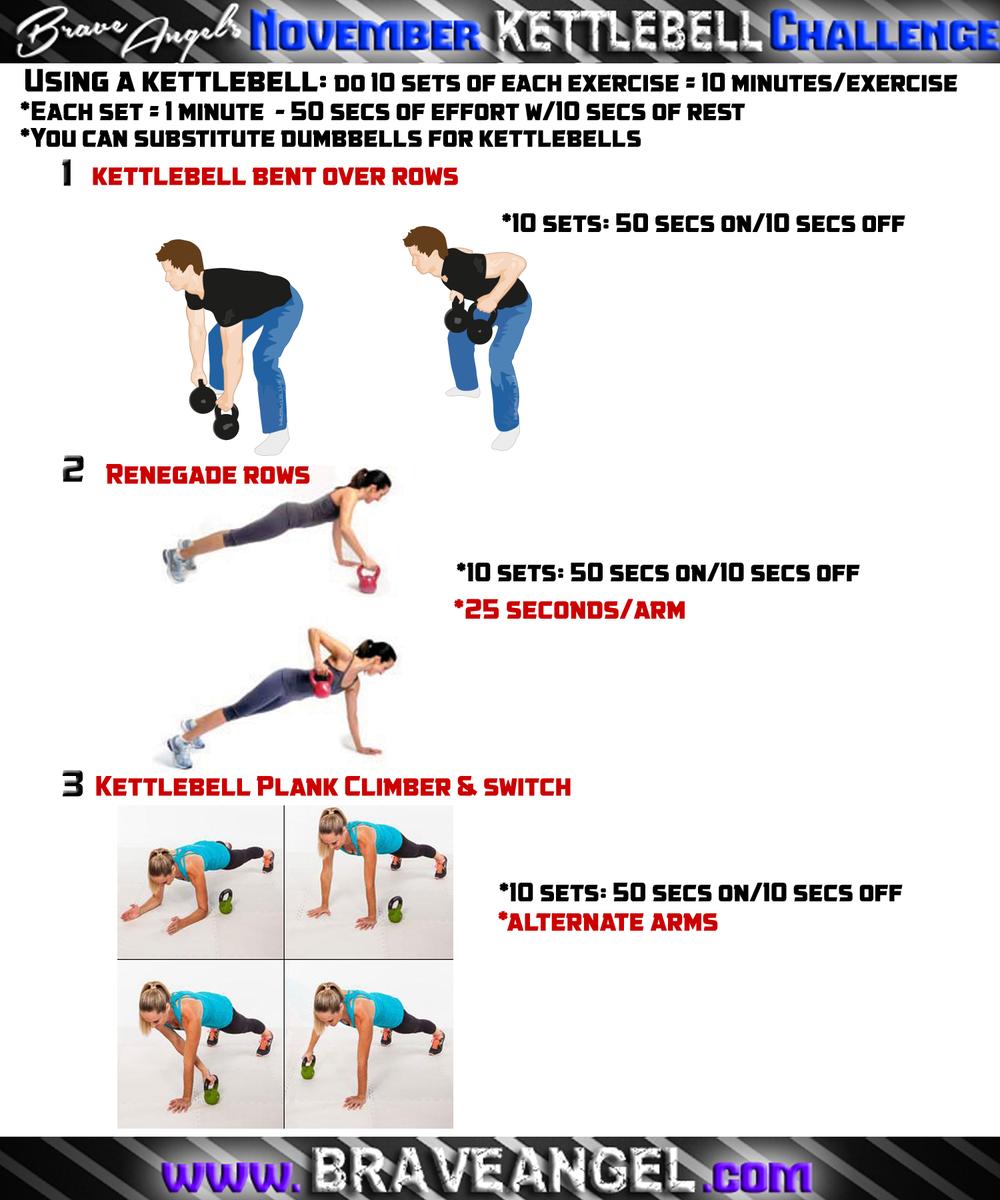 Kettlebell Swing Challenge: Two Simple Kettlebell Workouts!