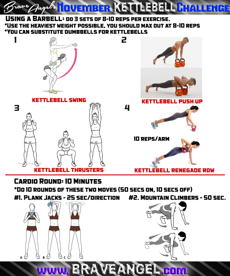 New Kettlebell Exercises For Your Workout Routine: Final Workouts For Kettlebell Challenge!