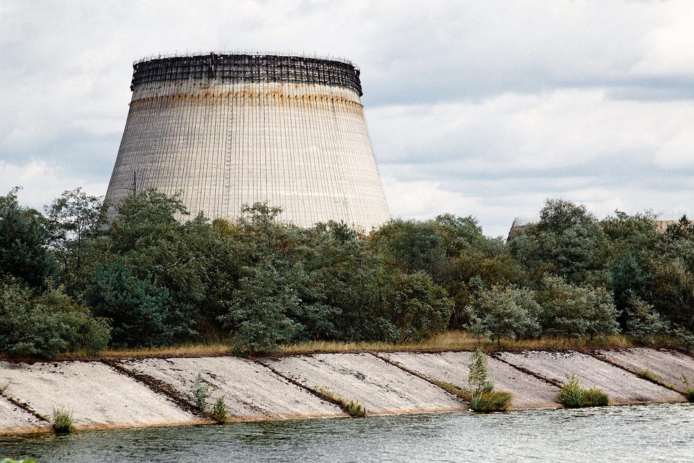 Tour hyperboloïde à Chernobyl, Ukraine - 2010 - 45x60cm