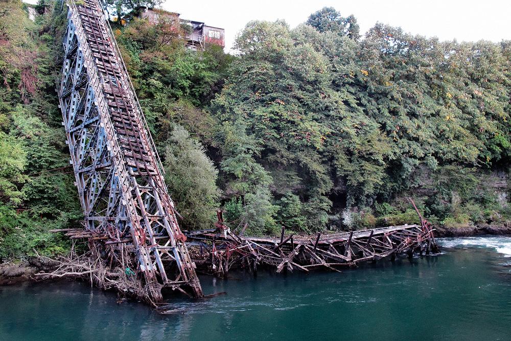 Pont de Jablanica, Bosnie - 2011 - 45x60cm