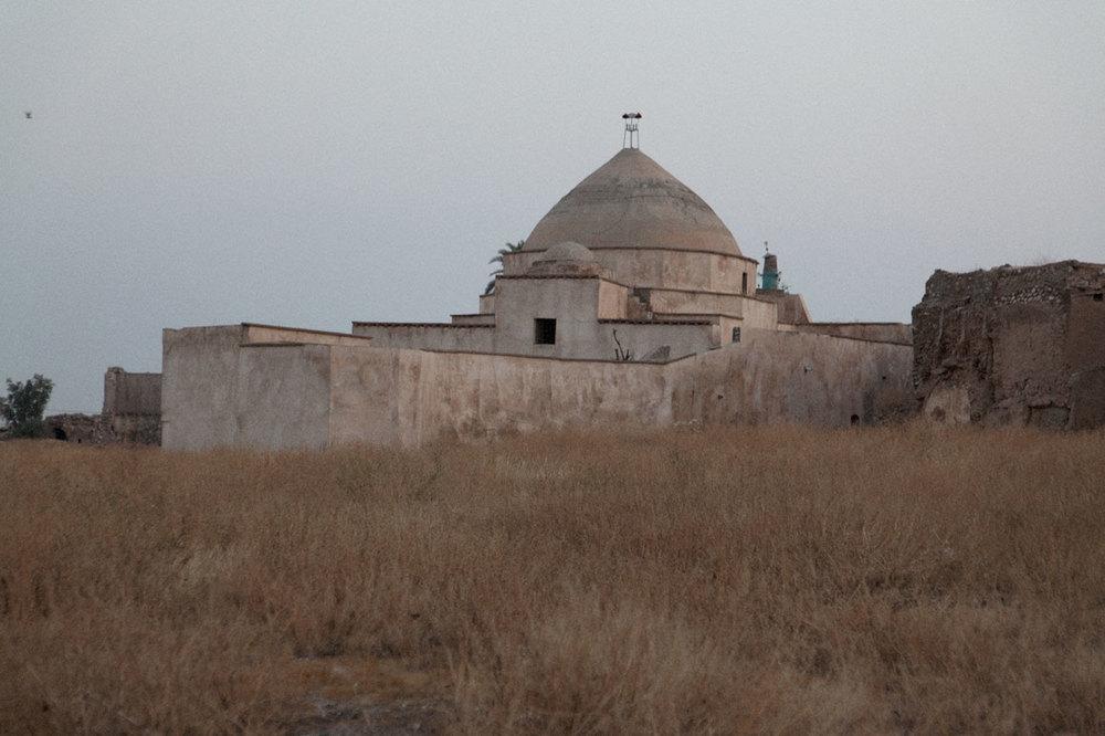 Mosquée abandonnée dans la citadelle