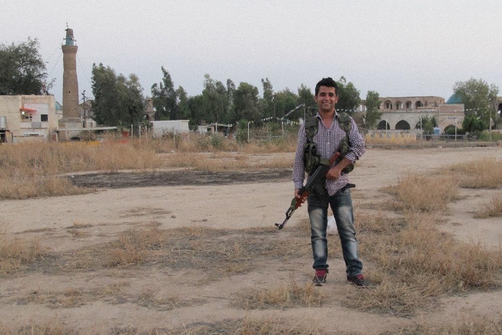 Hiwa, en peshmerga