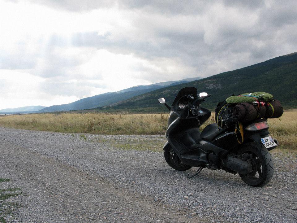 Sur la route, en Bulgarie